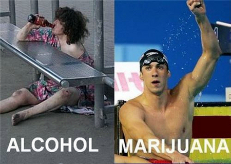 Cannabis is Safer than Alcohol